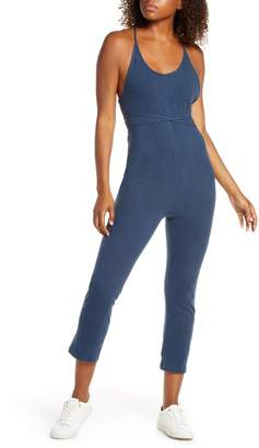 Spiritual Gangster Knotted Sleeveless Jumpsuit