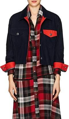 Current/Elliott Women's Collin Crop Denim Jacket