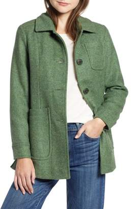 Pendleton Casper Mel Wool Blend Barn Coat