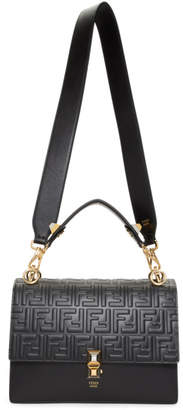 Fendi Black Medium Forever Kan I Bag