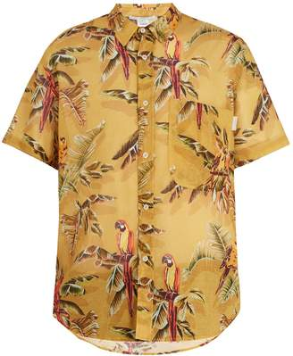 Stella McCartney Tropical-print short-sleeve shirt