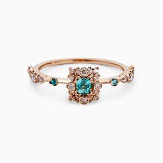 Kataoka Paraiba Diamond Pave Ring