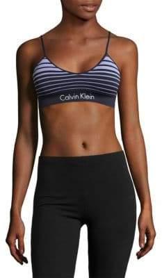 Calvin Klein Horizon Seamless Striped Bralette