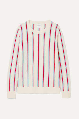 Madeleine Thompson Strombole Striped Cashmere Sweater - Cream