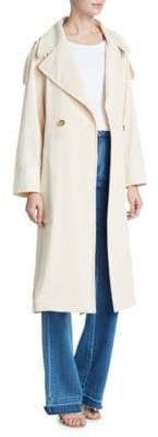 See by Chloe Fluid Gabardine Trench Coat