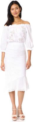 Saloni Grace Cotton Dress $660 thestylecure.com