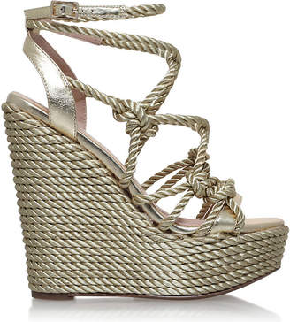 Kurt Geiger Notty rope-detail fabric sandals