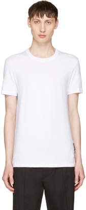 Dolce & Gabbana White Pure R-Neck T-Shirt