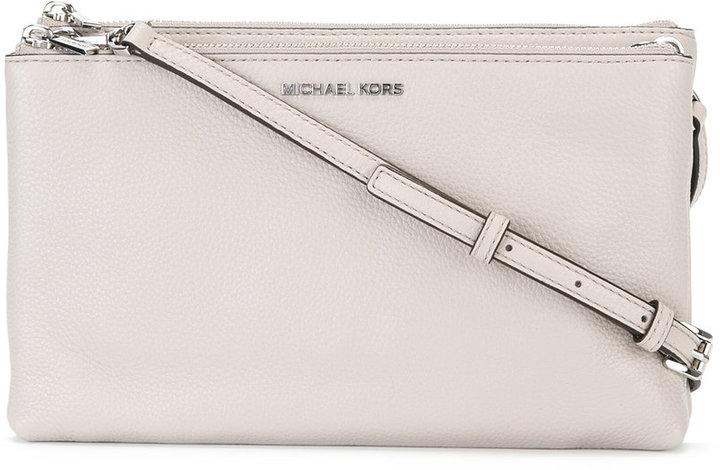 MICHAEL Michael KorsMichael Kors Adele double zip crossbody bag