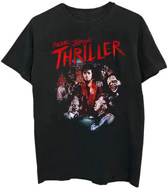 Novelty T-Shirts Michael Jackson Thriller Graphic Tee