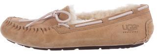 UGG Australia Dakota Moccasin Slippers $85 thestylecure.com
