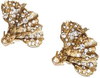 Christian Lacroix Vintage Gold Metal Earrings