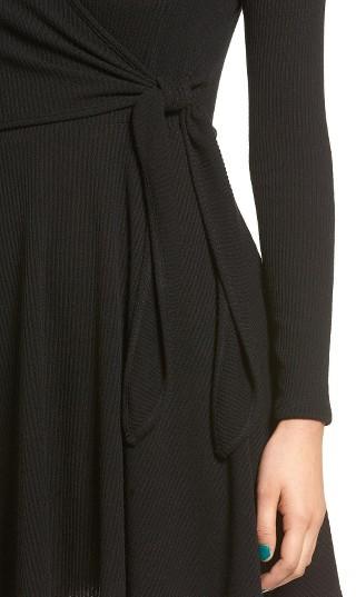 Women's Everly Rib Knit Wrap Dress 5