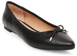Women's Noele Pointed Toe Ballet Flats - Merona $19.99 thestylecure.com