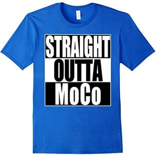 Mo&Co. Straight Outta Montgomery County MoCo T-Shirt Maryland State
