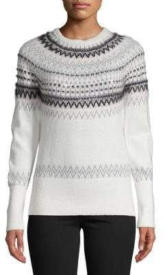 Tommy Hilfiger Fair Isle Sequin Sweater