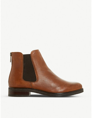 Dune Porteau leather Chelsea boots