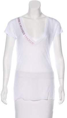 Thomas Wylde Printed Short Sleeve T-shirt w/ Tags