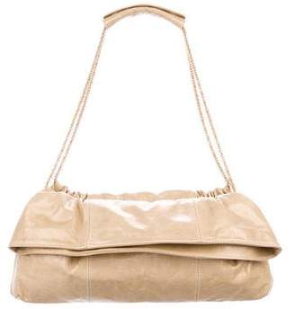 Thakoon Distressed Leather Shoulder Bag