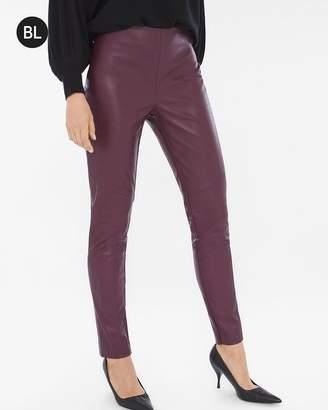 Black Label Faux-Leather Pants