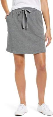 Caslon Tie Waist Knit Skirt