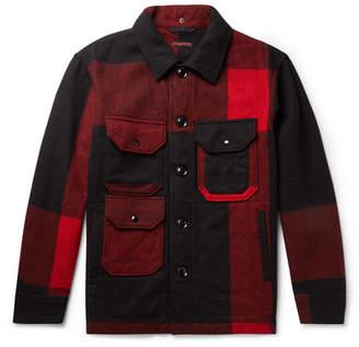 Engineered Garments Cruiser Checked Wool-Blend Field Jacket