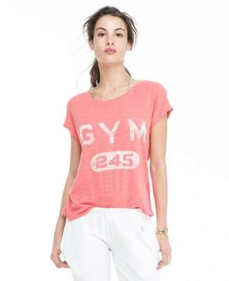 Todd Snyder + Champion: Womens Women's Graphic Muscle Tee in Grenadine