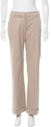 Brunello Cucinelli Mid-Rise Wide-Leg Pants w/ Tags
