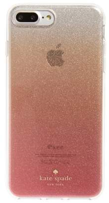 Kate Spade glitter ombre iPhone 7/8 & 7/8 Plus case(Nordstrom Exclusive)