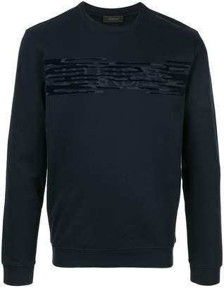 D'urban masked front logo sweatshirt