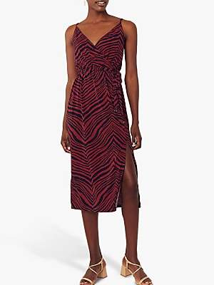 Oasis Tiger Cami Dress, Multi