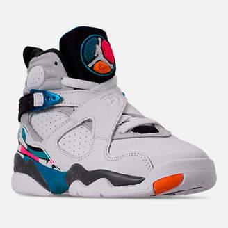Nike Big Kids' Air Jordan Retro 8 Basketball Shoes