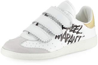 Isabel Marant Beth Grip-Strap Sneakers