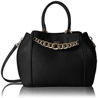 Calvin Klein Key Item Pebble Satchel Satchel Bag