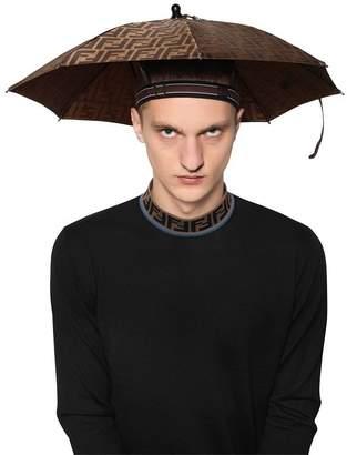 Fendi Ff Signature Headband Umbrella