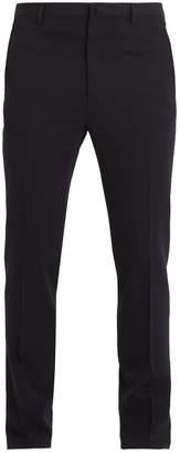 Lanvin Mid-rise straight-leg wool trousers