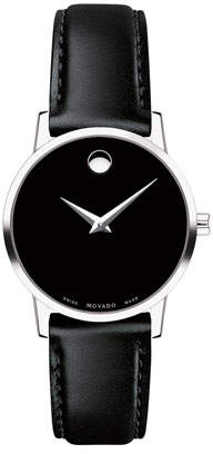 Movado 28mm Museum Classic Leather Watch