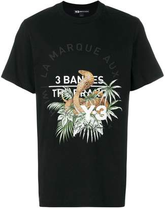 Y-3 cobra print T-shirt
