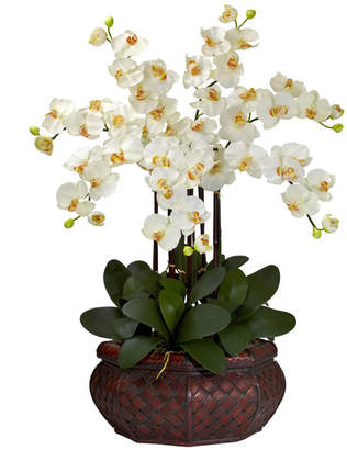 DAY Birger et Mikkelsen Charlton Home Large Phalaenopsis Silk Flower Arrangement