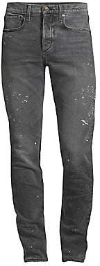Rag & Bone Men's Fit 1 Paint Splatter Jeans