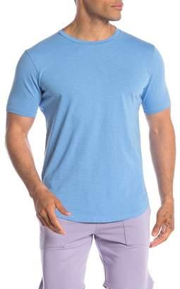 960d77a9ed3 Goodlife Short Sleeve Slub Knit Scallop Hem T-Shirt