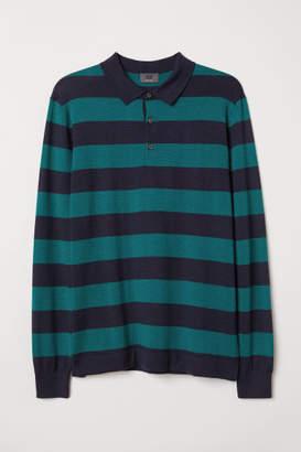 H&M Merino Wool Sweater - Green