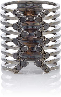 Black Diamond Ofira Jagged Edge Line Ring