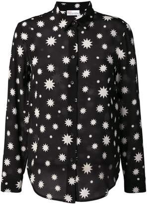 RED Valentino star print blouse