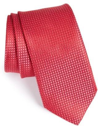 Men's John W. Nordstrom Micro Grid Silk Tie $89.50 thestylecure.com