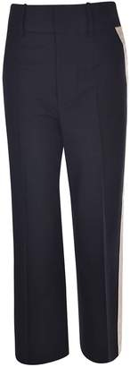 Helmut Lang Cropped Tailored Trousers