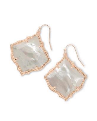 Kendra Scott Kirsten Drop Earrings in Rose Gold