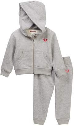 True Religion Hoodie & Sweatpants Set (Baby Girls)