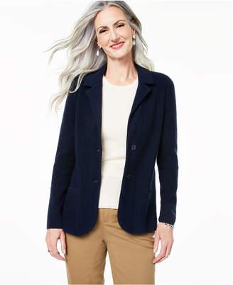 Charter Club Pure Cashmere Blazer, Regular & Petite Sizes
