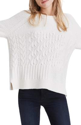 Madewell Copenhagen Cable Sweater